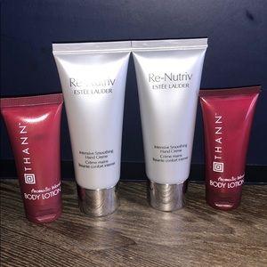 Estée Lauder Re-Nutriv Hand Cream +free gifts